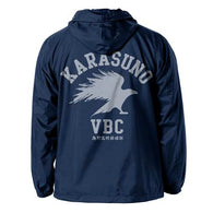 (PO) Haikyu! Karasuno High School Hooded Windbreaker Navy C609142
