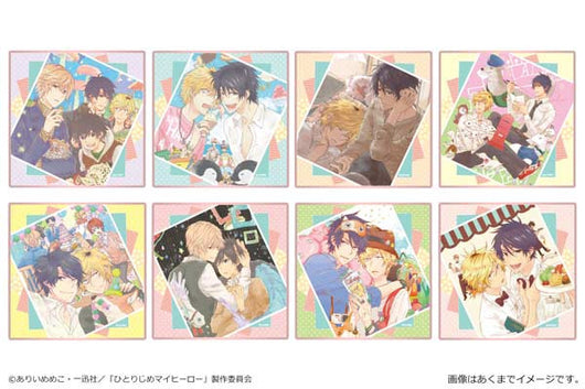 Hitorijime My Hero Trading Mini Stand Shikishi
