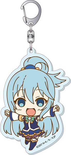 KonoSuba 2 Big Acrylic Key Chain B Aqua