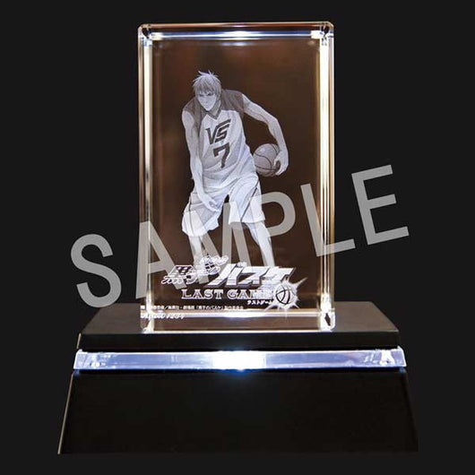 (PO) Kuroko's Basketball the Movie LAST GAME Crystal Art Kise Ryota (6)