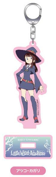 (PO) Little Witch Academia Acrylic Key Chain with Stand - Atsuko Kagari (4)