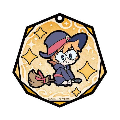 (PO) Little Witch Academia Stained Glass Art Key Chain - Lotte Jansson (6)