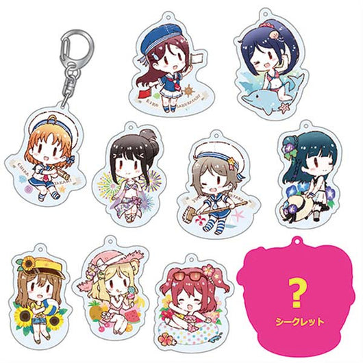 LoveLive! Sunshine!! School idol diary Trading Acrylic key ring 2
