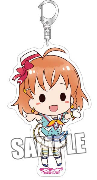 (PO) Love Live! Sunshine! BIG Acrylic Key Chain - Chika (5)