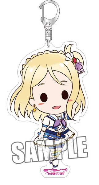 (PO) Love Live! Sunshine! BIG Acrylic Key Chain - Mari (5)