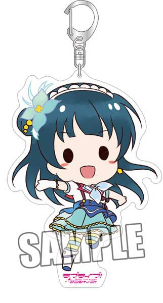 (PO) Love Live! Sunshine! BIG Acrylic Key Chain - Yoshiko (5)