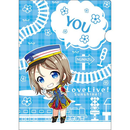 (PO) Love Live! Sunshine! Clear File Happy Party Train - You (10)