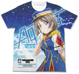 (PO) Love Live! Sunshine! You Watanabe Full Graphic Tees Happy Party Train Ver. (10)
