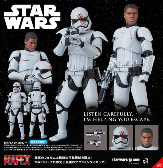 (PO) MAFEX Star Wars The Force Awakens - FN-2187 (5)