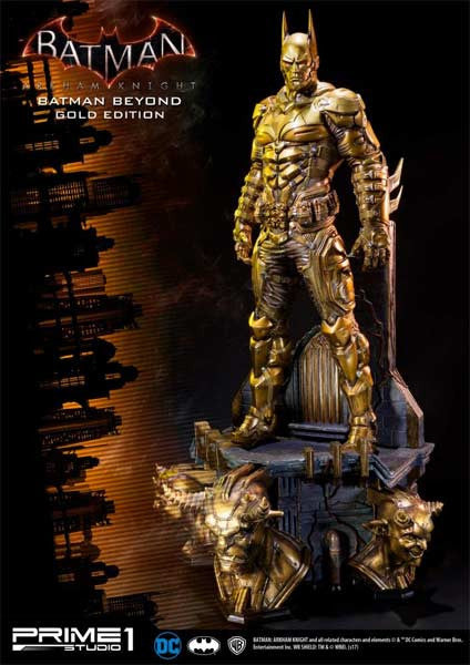 (PO) MMDC 10GL Batman Arkham Knight - Batman Beyond Gold Edition Statue (1Q 2018)