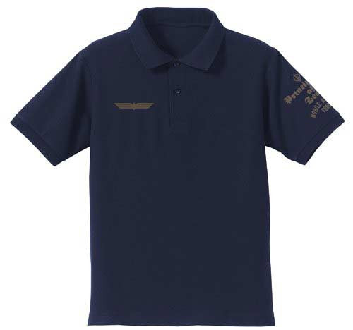 (PO) MS Gundam 0080: War in the Pocket Cyclops Squad Polo-shirt (Navy) (8)