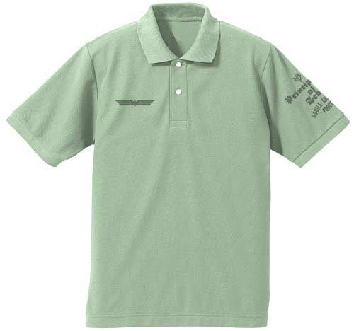 (PO) MS Gundam 0080: War in the Pocket Cyclops Squad Polo-shirt (Sage Green) (8)