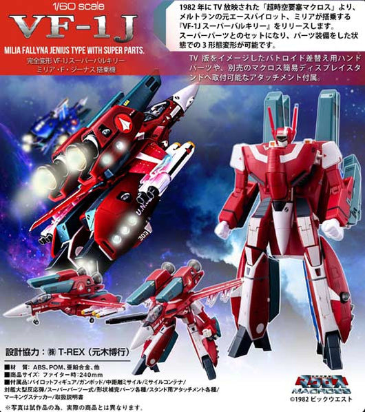 (PO) Macross Perfect Trance VF-1S Super Valkyrie Milia Fallyna Jenius Model (8)