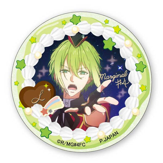 (PO) Marginal#4 Kiss Kara Tsukuru Big Bang Can Badge - Nomura L (5)