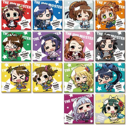 (PO) Minicchu The Idolmaster Trading Square Can Badge Collection 1 (6)