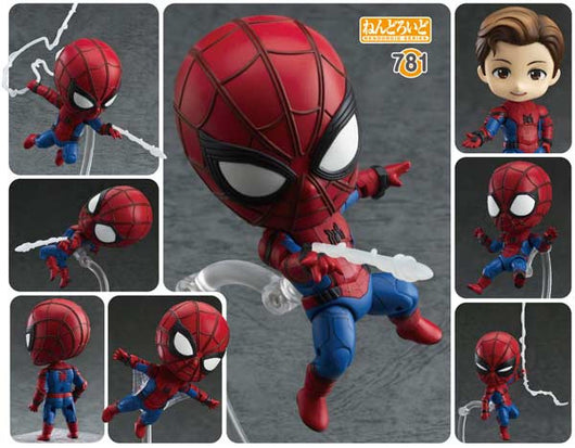 Nendoroid 781 Spider-Man: Homecoming Edition