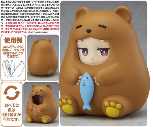 Nendoroid More Kigurumi Face Part Case (Futocchokuma)