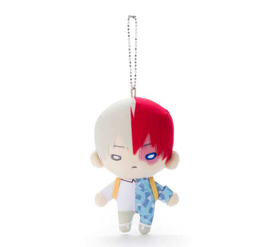 Nitotan My Hero Academia Plush with Ball Chain - Todoroki Shoto