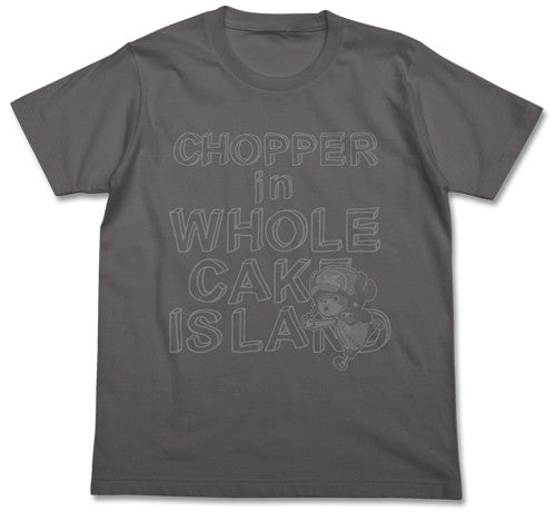 (PO) One Piece Chopper in Whole Cake Island (Gray) T-Shirts (8)