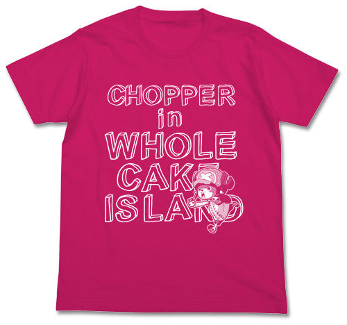 (PO) One Piece Chopper in Whole Cake Island (Pink) T-Shirts (8)