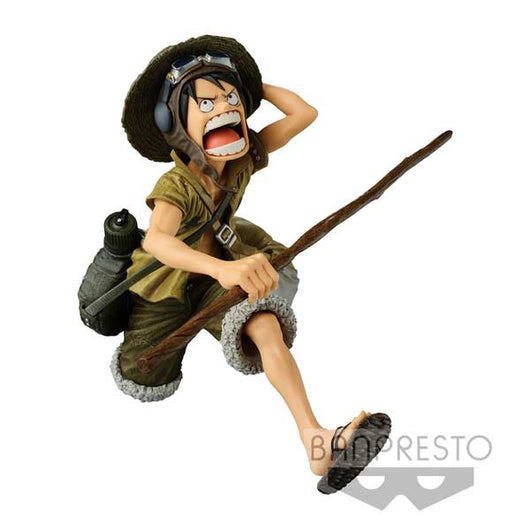 (PO) One Piece Scultures Luffy (Army Colour ver.) (7)