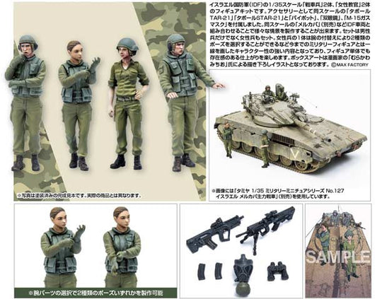 (PO) PLAMAX 35-02 Israel Defense Forces Tank Crew Set 1 (7)