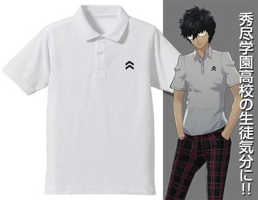 (PO) Persona 5 Shujin High School Design Polo Shirt C609109