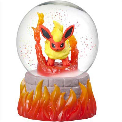 (PO) Pokemon Snow Globe - Flareon (8)
