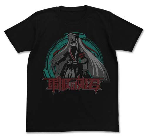 (PO) Re:Creators Military Uniform Princess T-Shirts Black C609137