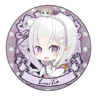 Re:Zero Can Badge - Emilia