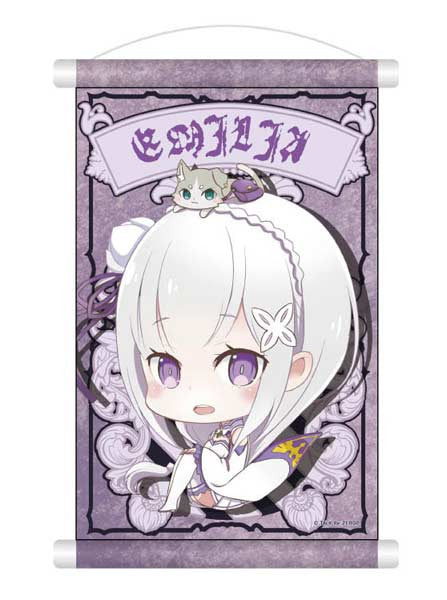 Re:Zero Mini Tapestry - Emilia