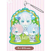 (PO) Re:Zero kara Hajimeru Isekai Seikatsu Rubber Strap RICH -Tea Time Ver.- (10)