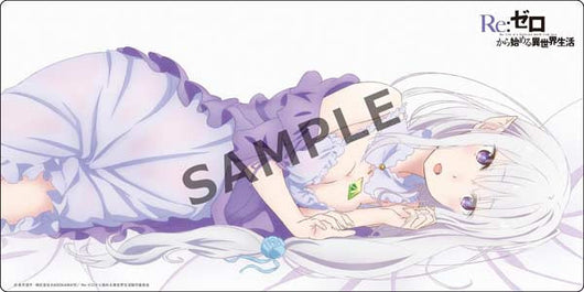 Rubber Play Mat Collection Re:Zero kara Hajimeru Isekai Seikatsu - Emilia