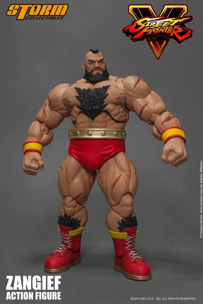 (PO) Street Fighter V - Zangief  (Q3 2017)