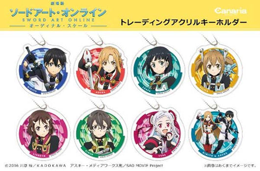 (PO) Sword Art Online -Ordinal Scale- Trading Acrylic Key Chain (9)