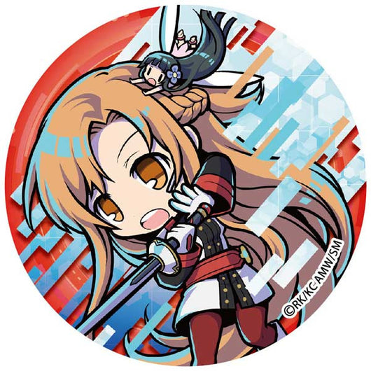 (PO) Sword Art Online The Movie -Ordinal Scale- Big Can Badge - Asuna (8)