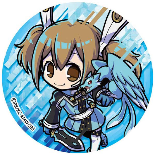 (PO) Sword Art Online The Movie -Ordinal Scale- Big Can Badge - Silica (8)