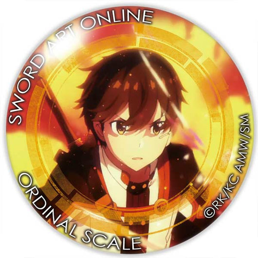 (PO) Sword Art Online The Movie -Ordinal Scale- Can Badge Kirito (4)