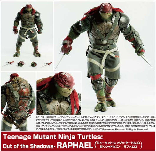 (PO) Teenage Mutant Ninja Turtles -Out of the Shadows- Raphael (8)