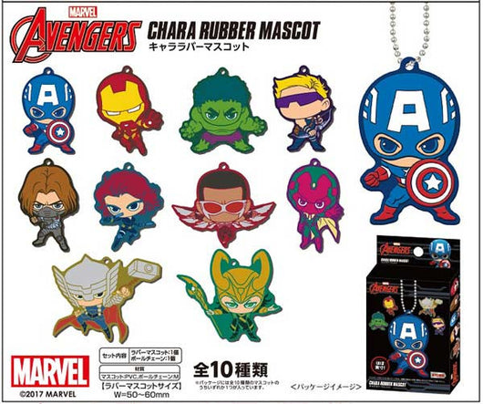The Avengers Chara Rubber Mascot