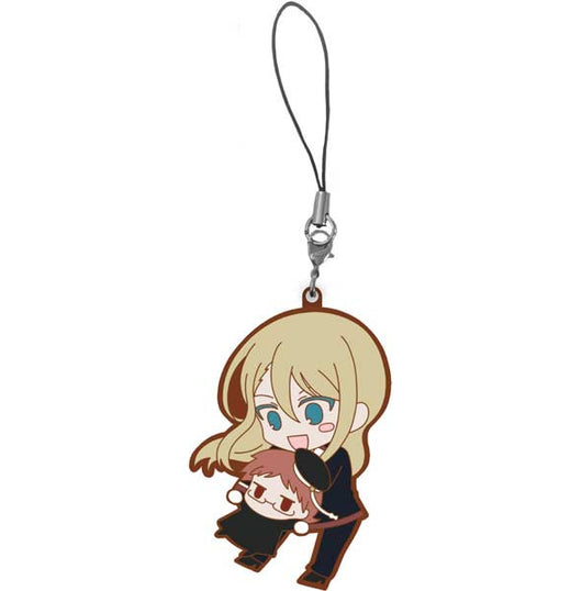 (PO) The Royal Tutor CharaRide Chibi Heine on Licht Rubber Strap (8)