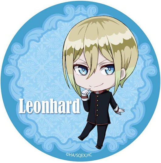 The Royal Tutor SD Chara Can Badge - Leonhard