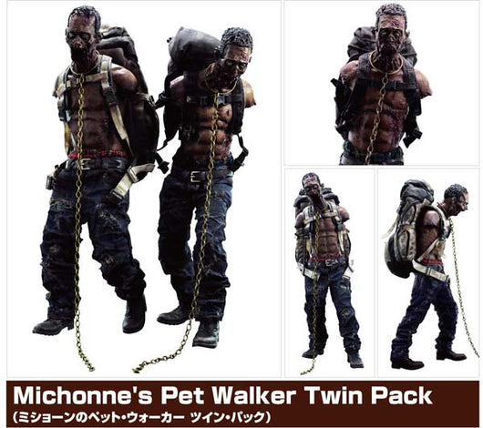 (PO) The Walking Dead - Michonne Pet Walker Twin Pack (11)