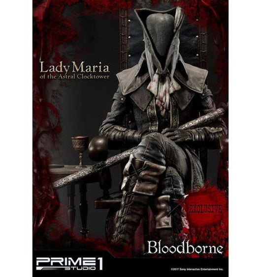 (PO) UPMBB-01EX Bloodborne: The Old Hunters - Lady Maria of the Astral Clocktower Statue Exclusve ver. (Q2 2018)