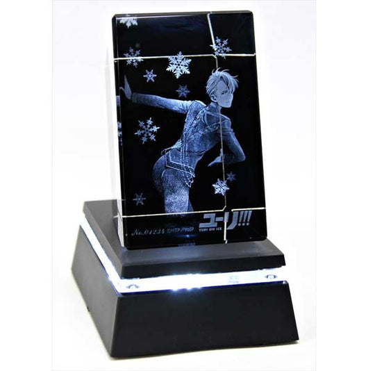(PO) Yuri! on Ice 3D Crystal Art with Base Victor Nikiforov (5)