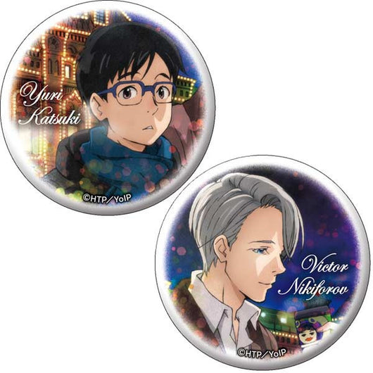 Yuri! on Ice Can Badge Set A