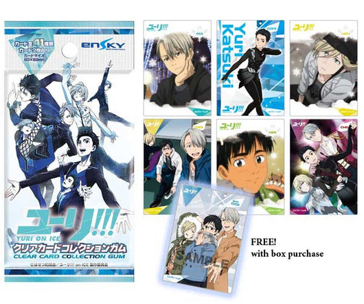 Yuri! on Ice Clear Card Collection Gum