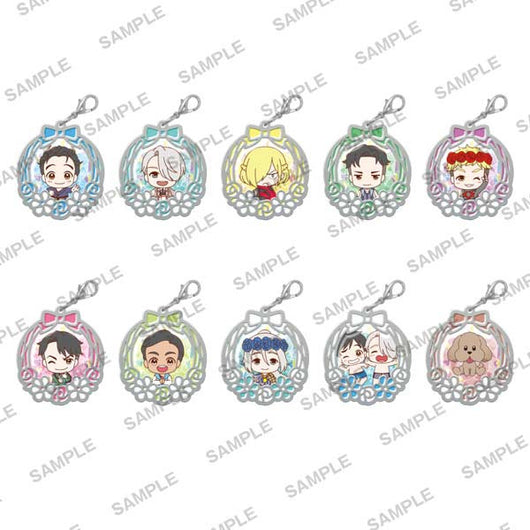 Yuri! on Ice Clear Stained Charm Collection