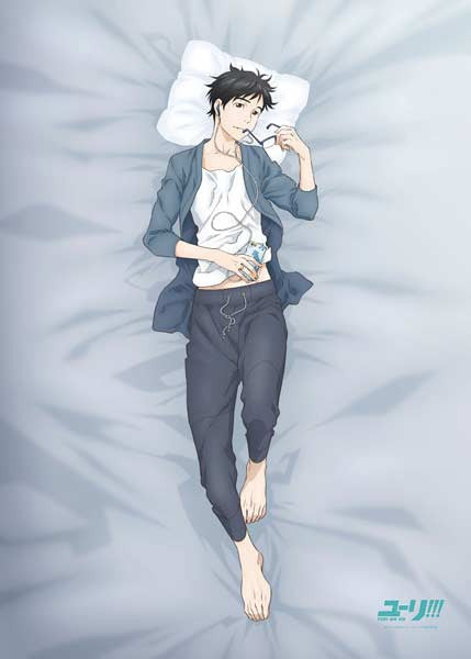 (PO) Yuri! on Ice Original Illustration Oyasumi Sheet Katsuki Yuri (5)