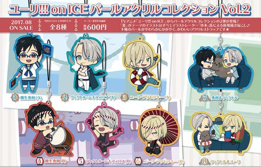 Yuri! on Ice Pearl Acrylic Collection Vol. 2